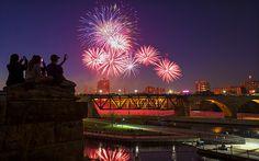 Minneapolis Minnesota Fireworks