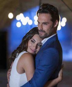 Ana Brenda Contreras y Ivan Sanchez en la telenovela Lo Imperdonable.