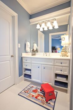 Charmant Nautica Bathroom | 5,032 Nautical Themed Bathroom Home Design Photos
