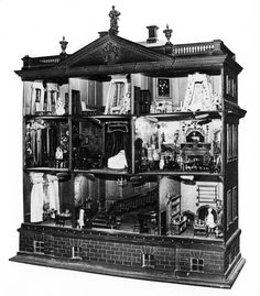James Paine, Dollhouse for Lady Winn at Nostell Priory, Yorkshire, England