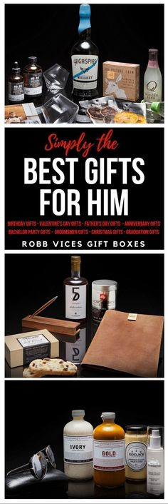 57451285efd The PERFECT Gift for Him! Robb Vices Specialty Gift Boxes! Gifts for Him