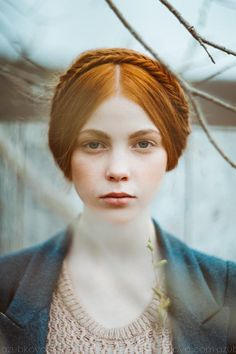 Untitled by Asya Zubkova on 500px Beautiful Red Hair, Beautiful Redhead, Redheads, Braid Crown, Milkmaid Braid, Childhood Games, Portrait Inspiration, Hair Inspiration, Wedding Inspiration