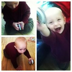 This kid doesn't have any real toys. He's been playing with #badgerbalm all day. - @tessaann_ganes