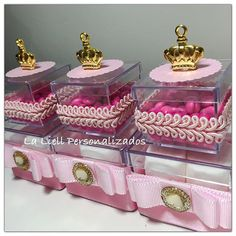 Baby Shower Princess, Princess Party, Pink And Gold Birthday Party, Birthday Parties, Towel Cakes, Gable Boxes, Party Organization, Baby Baskets, Ideas Para Fiestas
