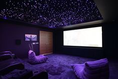 home theater design - home theater ideas ; home theater rooms ; home theater design ; home theater ; home theater seating ; home theater ideas on a budget ; home theater decor ; home theater ideas basement theater rooms basements Home Theater Room Design, Movie Theater Rooms, Home Cinema Room, Home Theater Decor, Home Theater Seating, Movie Rooms, Home Theatre, Cinema Room Small, Small Movie Room