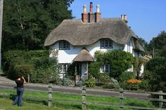 Thatched Cottage jigsaw puzzle in Puzzle of the Day puzzles on TheJigsawPuzzles.com