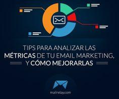 Tips para analizar las métricas de tu campaña de email, y como mejorarlas