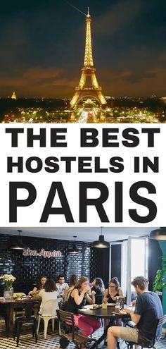 Best Hostels in Paris: Paris is packed to bursting with epic hostels for every kind of traveler - we've broken down the best hostels for couples, solo travelers, party animals and digital nomads, check out our list so you can lock your accommodation down