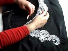 How to make Irish Crocheted Lace. I've never known how! Simply stunning.