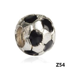 Silver European Beads Charm Jewelry For Bracelet - Shipping Cap Promotion- - TopBuy.com.au