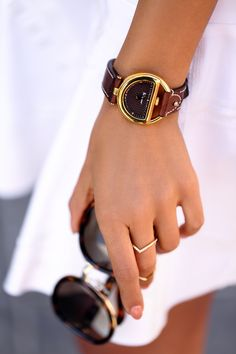 Ferragamo #FerragamoBuckle watch & sunglasses