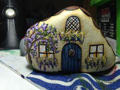 Painted garden cottage