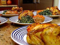 Get this all-star, easy-to-follow Roasted Cornish Game Hens recipe from Patrick and Gina Neely