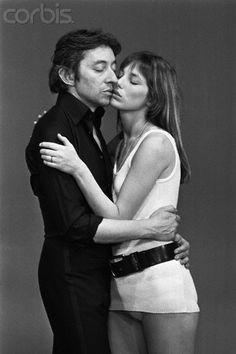 Serge Gainsbourg with Jane Birkin