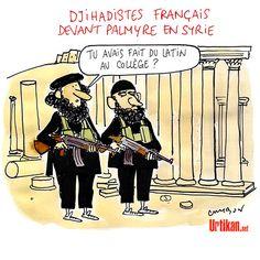 Plus de 1400 Français ou résidents engagés dans le djihad - Dessin du jour - Urtikan.net