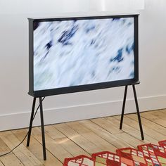 Bouroullec brothers design new TV for Samsung as a piece of furniture.