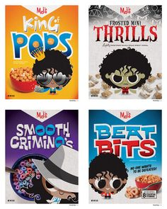 Michael Jackson Cereal. - Michael De Pippo