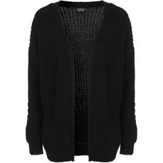 TopShop Fisherman Rib Cardigan ($51) ❤ liked on Polyvore featuring tops, cardigans, jackets, ribbed top, topshop, topshop tops, white top and cardigan top