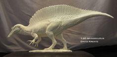 Spinosaurus by David Krentz | www.facebook.com/davidkrentzart
