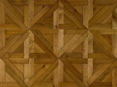 triangle pattern parquet floor