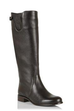 SUZIE Brown Flat Women Boots