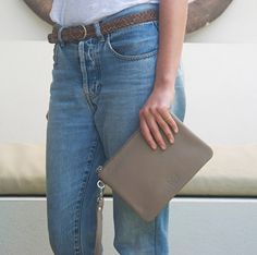 Hally Belt - Tan - Stitch and Hide