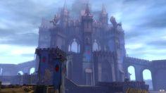 wvw keep Guild Wars 2, Mysterious Places, Fantasy Landscape, Tower Bridge, Brooklyn Bridge, Travel, Composition, Board, Viajes