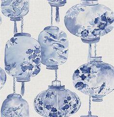 Sapphire Kana Lantern Festival Wallpaper