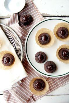 Cocoa Drops with Chocolate and Manuka Honey-Vanilla Bean Ganache