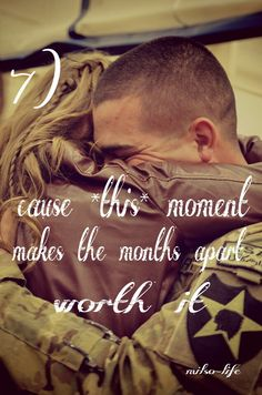 It is worth it!  Pin this if you know what this kind of hug feels like. - MilitaryAvenue.com