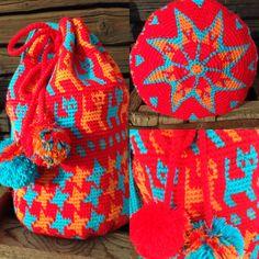 Mochila/wayuu with a Scandinavian touch.  No. 1
