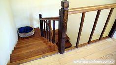 scara interioara din lemn masiv  vang modular mana curenta balustrii pret scara