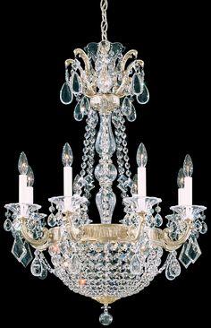Schonbek 5078 La Scala Empire 26 Inch Chandelier