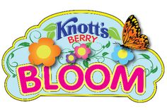 KNOTT'S SPRING TIME FAMILY FUN STARTS MARCH 23RD  Knott's Berry Bloom Spring is in the Air at Knott's Berry Farm March 23 through April 7