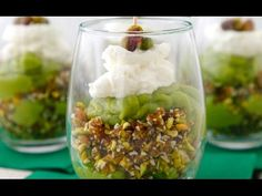 Creamy Avocado Lime Parfaits - Dye Free Recipes - Weelicious