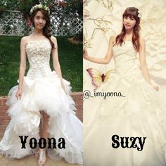 #Yoona VS #Suzy Which dress do you like more? Tag your friends !!!#kpop#snsd#girlsgeneration#fff#lfl#followme#love#instagood#likethisp#sexy#girl#imyoona#blackpink#bts#exo#twice#gfriend#aoa#ioi#yg#suzy#hyuna#krystal#taeyeon#like4like#baesuzy#leeminho#missa