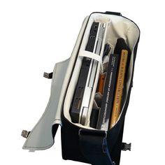 "Messenger Laptop 15"" Strong Durable Bag Black"