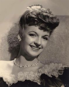 Dale Evans ...... What a lady she was. An absolute angel! He hair style is so cute in this pic!
