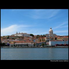 Lisbon from the river ...
