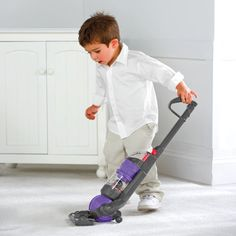 Kids Toy Dyson Ball Vacuum- yup because my son does like to vacuum and sweep