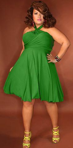 #Green #Dress #StandOut
