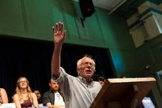 """Bernie Sanders to speak at Liberty University, founded by Jerry Falwell. He added: """"It is very easy for a candidate to speak to people who hold the same views. It's harder but important to reach out to others who look at the world differently. I look forward to meeting with the students and faculty of Liberty University."""""""