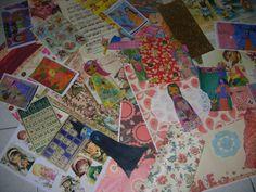 Magic Mixed Media Pack/Kit lots of paper and art by eltsamp, $80.00