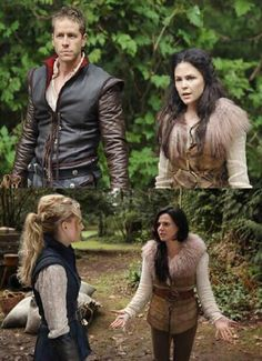 Looks like Regina is going to be Snow and Emma is going to be Charming. I'm excited nervous LOL