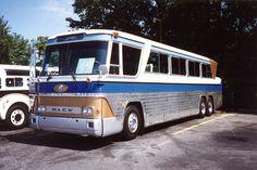 Mack Greyhound Bus | 1959 Mack MV-620-D Demo Bus for Greyhou… | Flickr