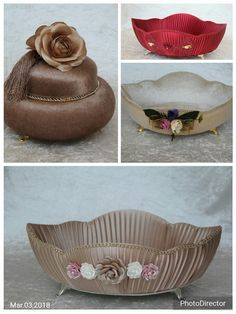 Wedding Gift Wrapping, Wedding Gifts, Fabric Covered Boxes, Marriage Gifts, Ring Bearer Pillows, Marriage Decoration, Balloon Decorations, Decorative Bowls, Diy And Crafts