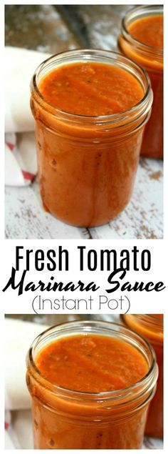 A rich, flavorful basic marinara sauce that uses fresh tomatoes. A wonderful way to use up an abundance of tomatoes from the garden.