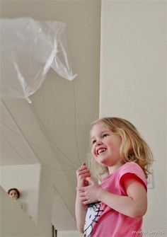 Aerospace Engineering: Make a Homemade Parachute - a fun and simple learning activity for kids!