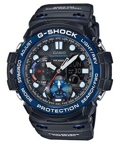 Casio G-Shock Gulf Master Multifunction Watch Dark Blue