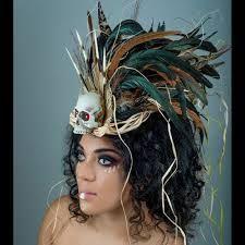 Image result for voodoo priestess headdress                                                                                                                                                      More